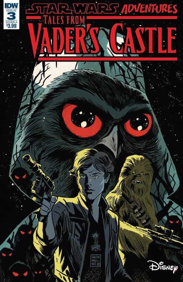 Preview of Star Wars Adventures: Tales from Vader's Castle #3