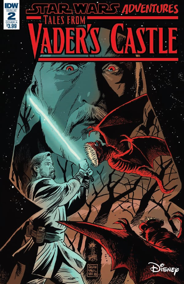 Preview of Star Wars Adventures: Tales from Vader's Castle #2