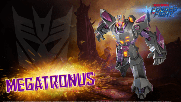 Transformers: Forged to Fight adds Megatronus