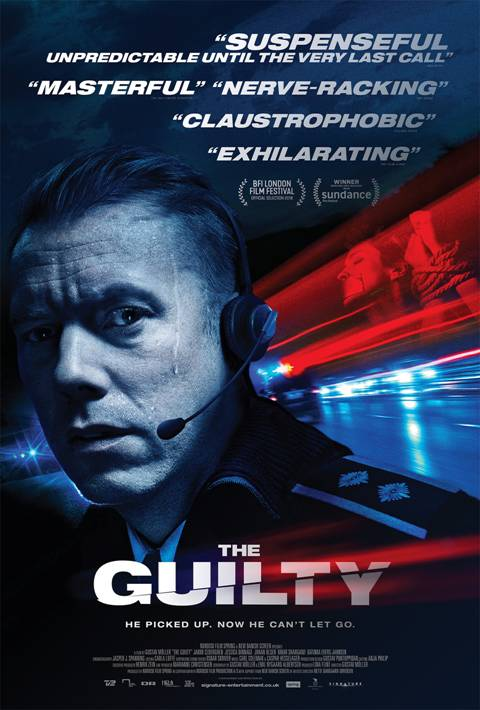 Movie Review : The Guilty (2018)