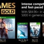 November's Xbox Games with Gold announced