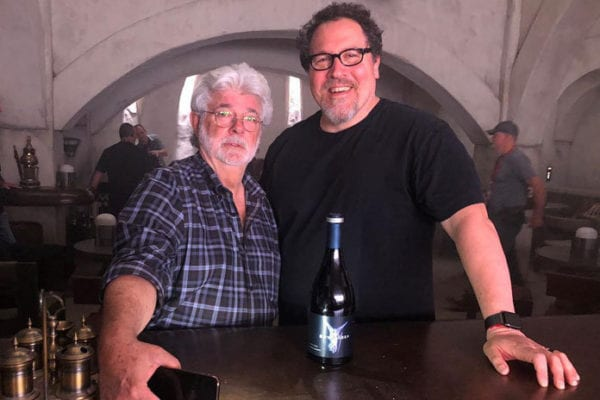 george-lucas-jon-favreau-star-wars-the-mandalorian-600x400