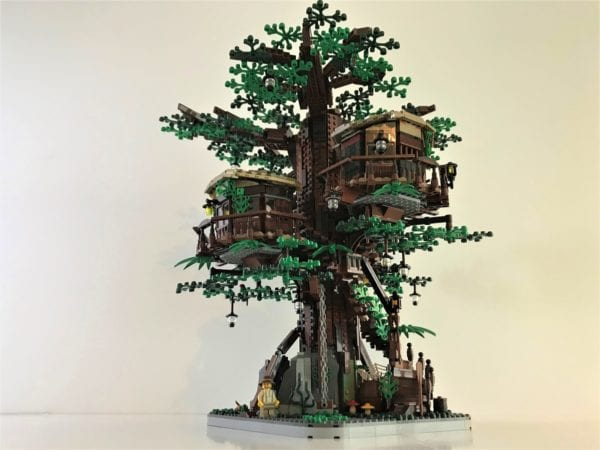LEGO Ideas Treehouse and The Flintstones projects selected for official LEGO sets