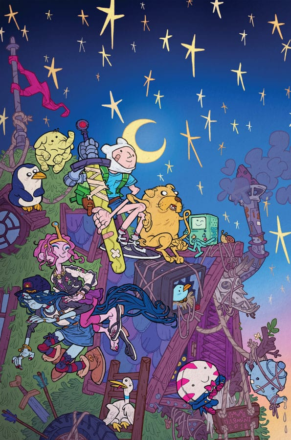 Adventure time first season / Seattle japanese garden