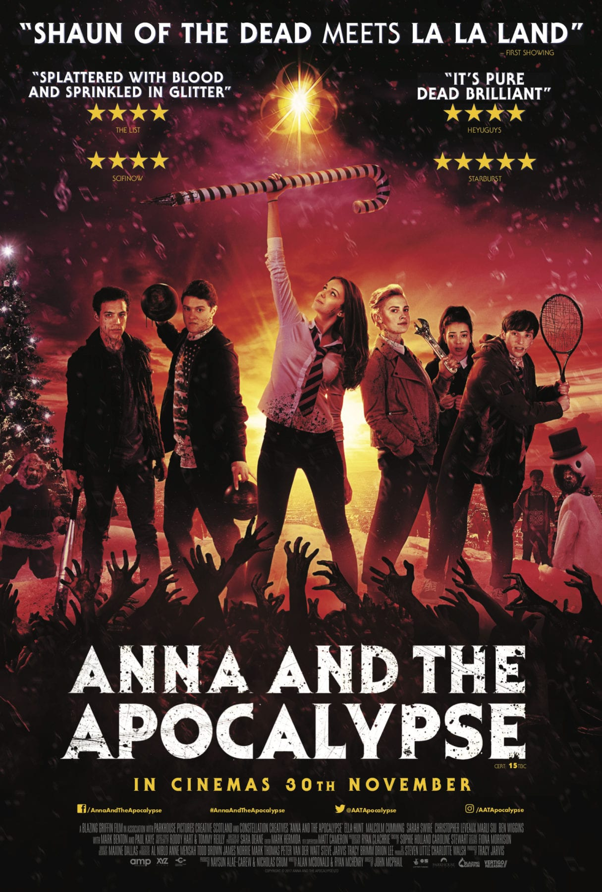 Movie Review - Anna and the Apocalypse (2018) | Flickering Myth