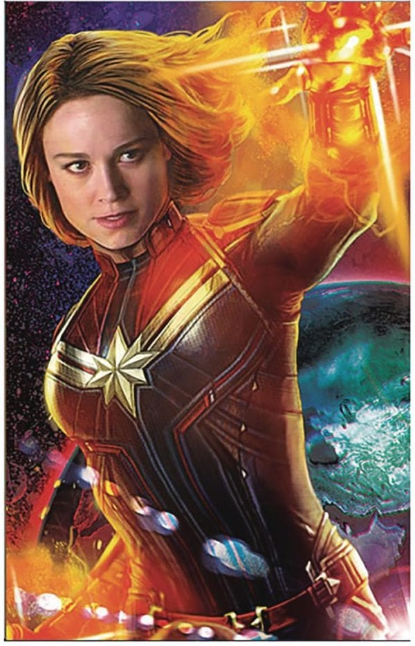 Captain Marvel Gets Two New Promotional Posters Flickering Myth