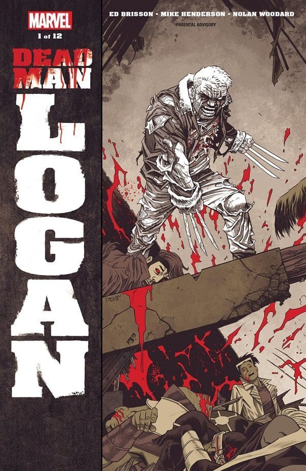 Toys Are Us Search : Preview of dead man logan flickering myth