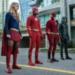 New 'Elseworlds' image features John Wesley Shipp's 90s Flash