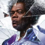 Glass character posters featuring Samuel L. Jackson, James McAvoy and Bruce Willis