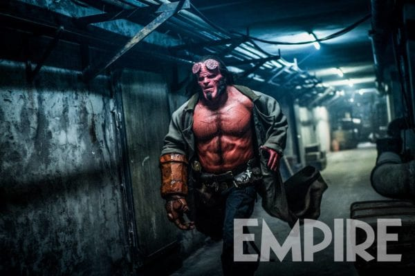 New Photo Arrives For Hellboy, Director Says It's More Violent Than Original