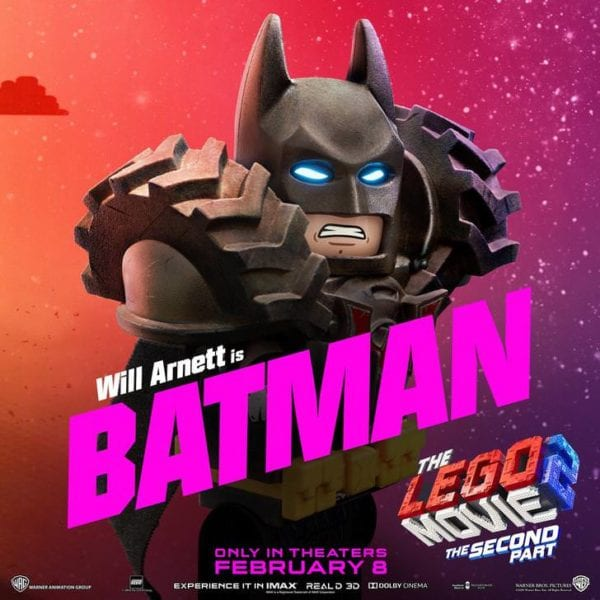 The LEGO Movie 2: The Second Part gets seven character posters