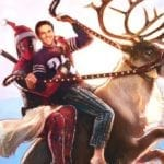 Once Upon a Deadpool poster features Deadpool, Fred Savage and Rudolph the Red-Nosed Reindeer