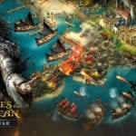 Captain Salazar and the Silent Mary arrive in Pirates of the Caribbean: Tides of War