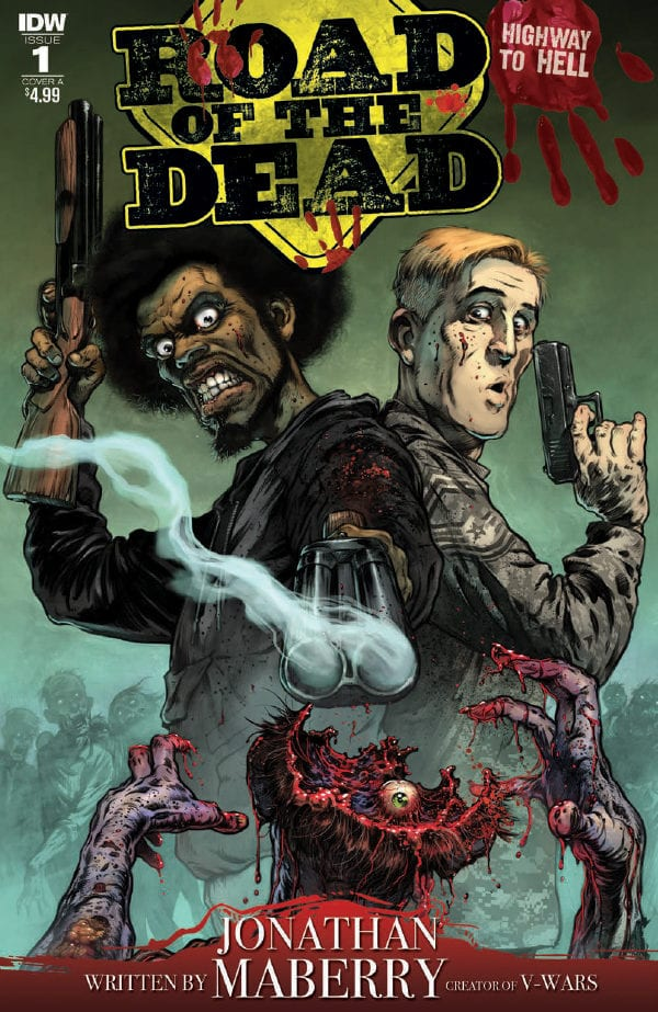 Preview of George A. Romero's Road of the Dead: Highway to Hell #1