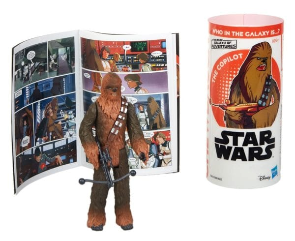 STAR-WARS-GALAXY-OF-ADVENTURES-CHEWBACCA-Figure-and-Mini-Comic-2-600x490