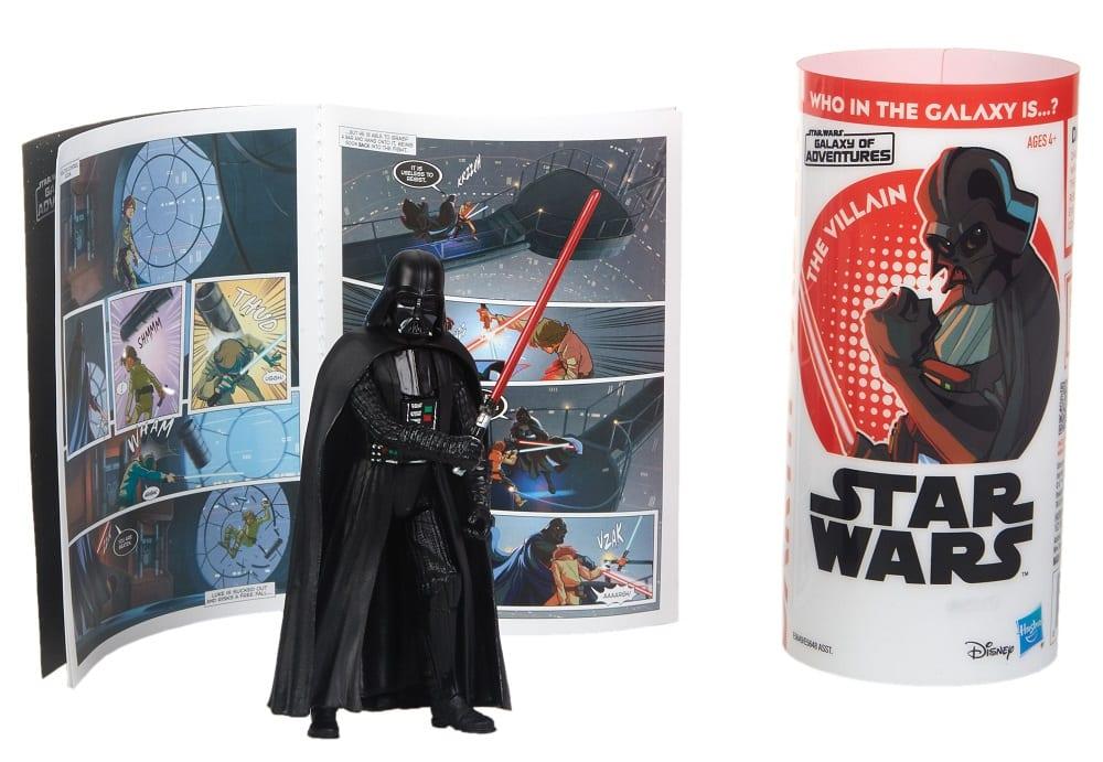 "STAR WARS 3.75/"" Action Figures /& Mini Comic Packs Galaxy of Adventure"