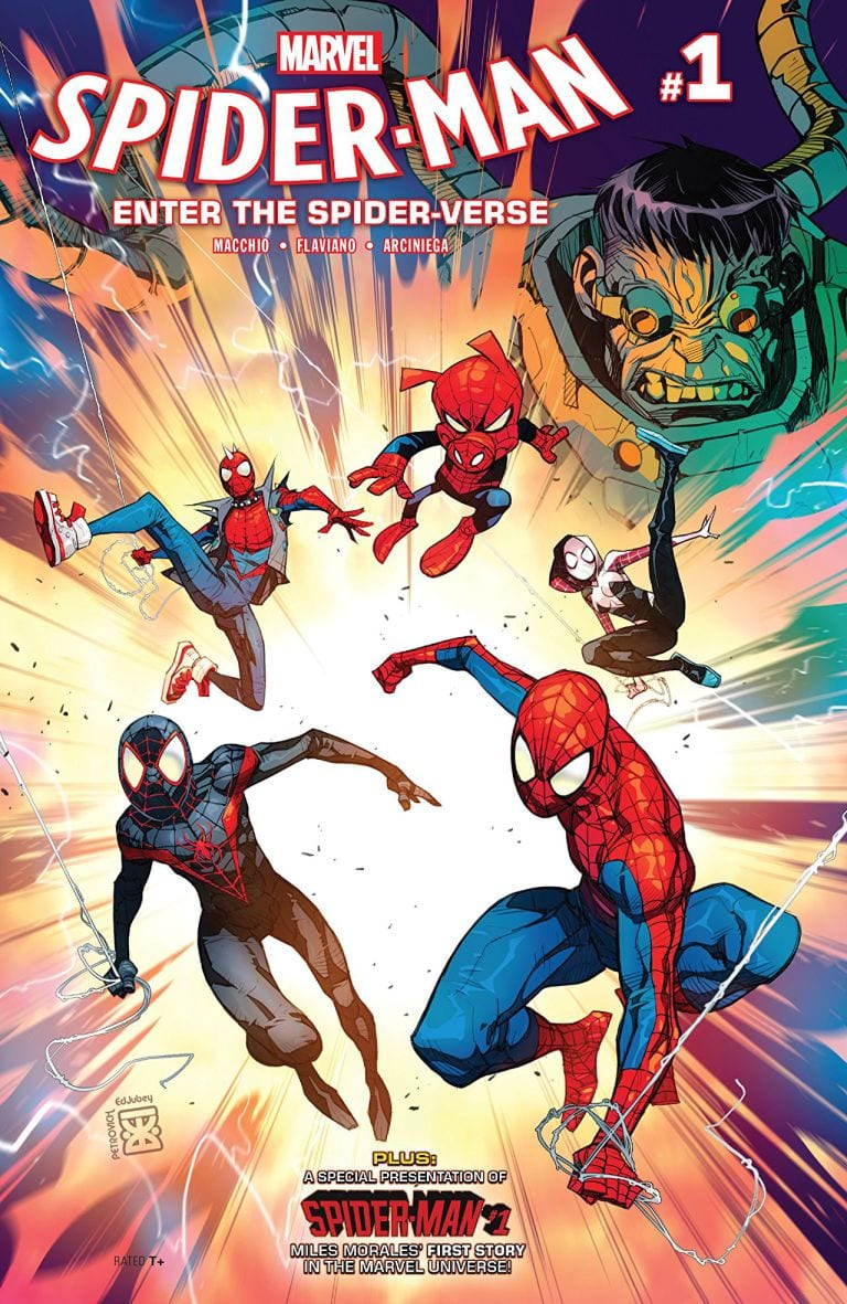Preview of Spider-Man: Enter The Spider-Verse #1