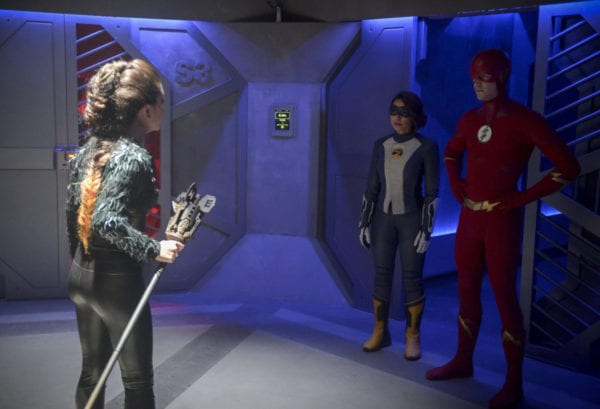 Promo images for The Flash Season 5 Episode 7 - 'O Come, All