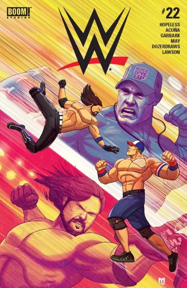 Comic Book Review – WWE #22