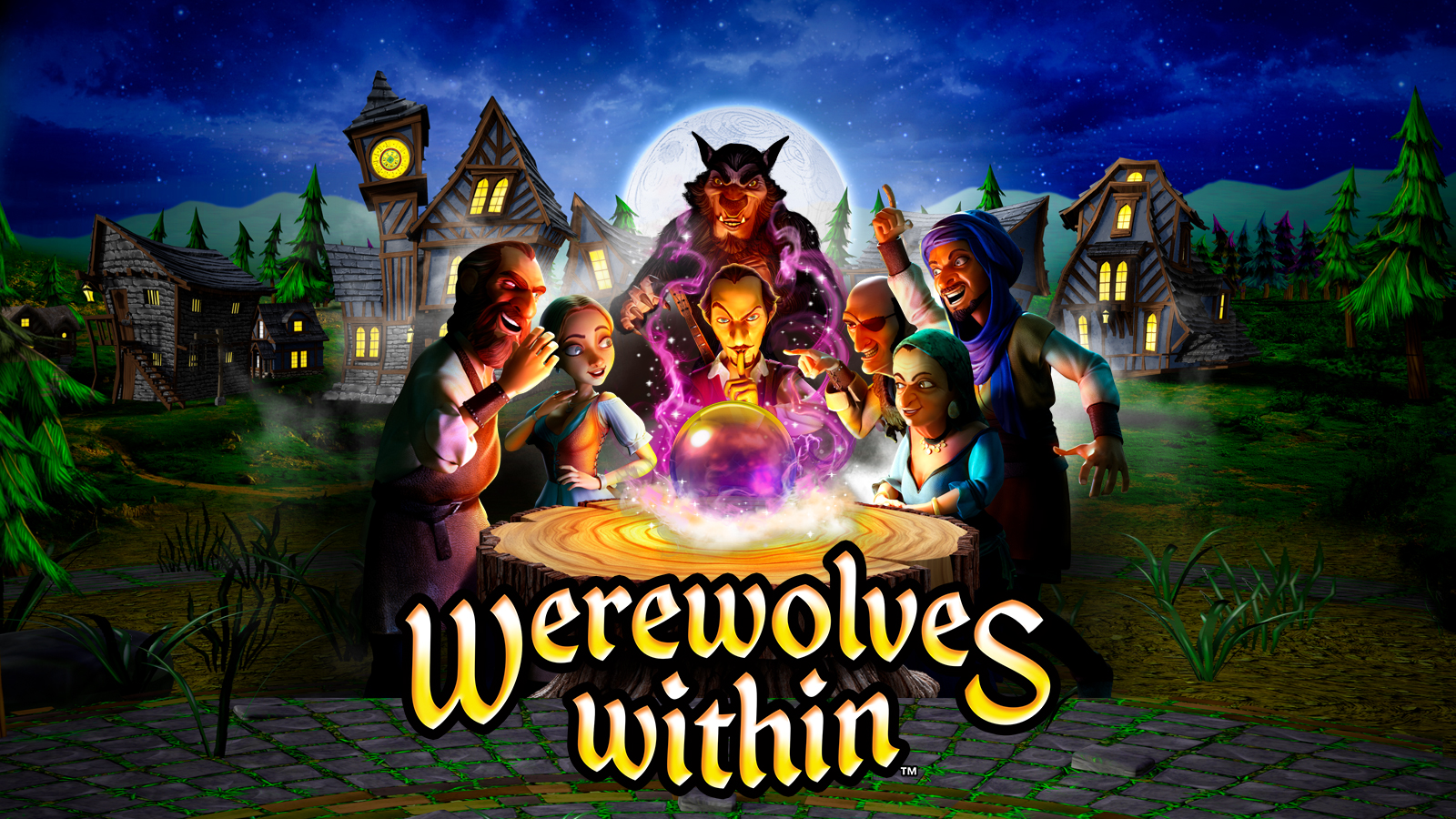 Werewolves Within movie sets its director