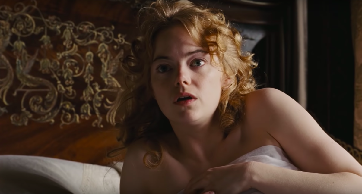 Emma stone nude scene