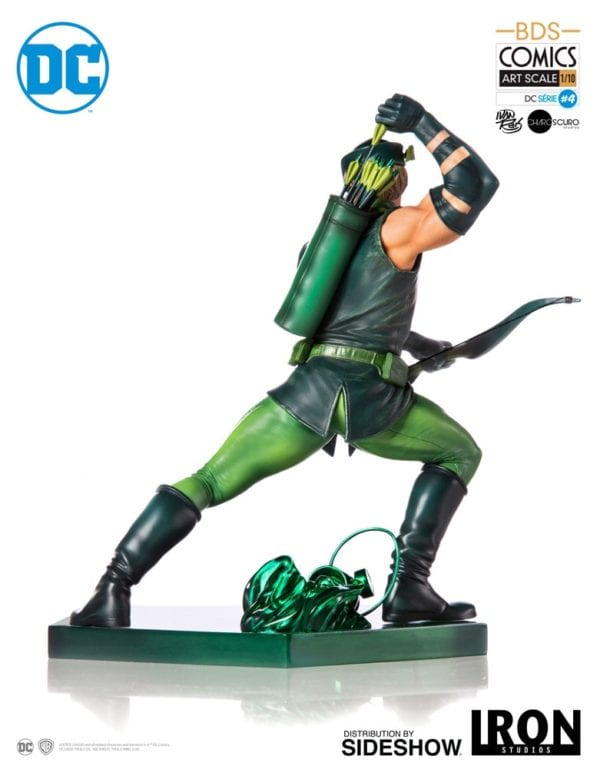 green-arrow-battle-diorama-series-art-scale-statue-iron-studios-6-600x769