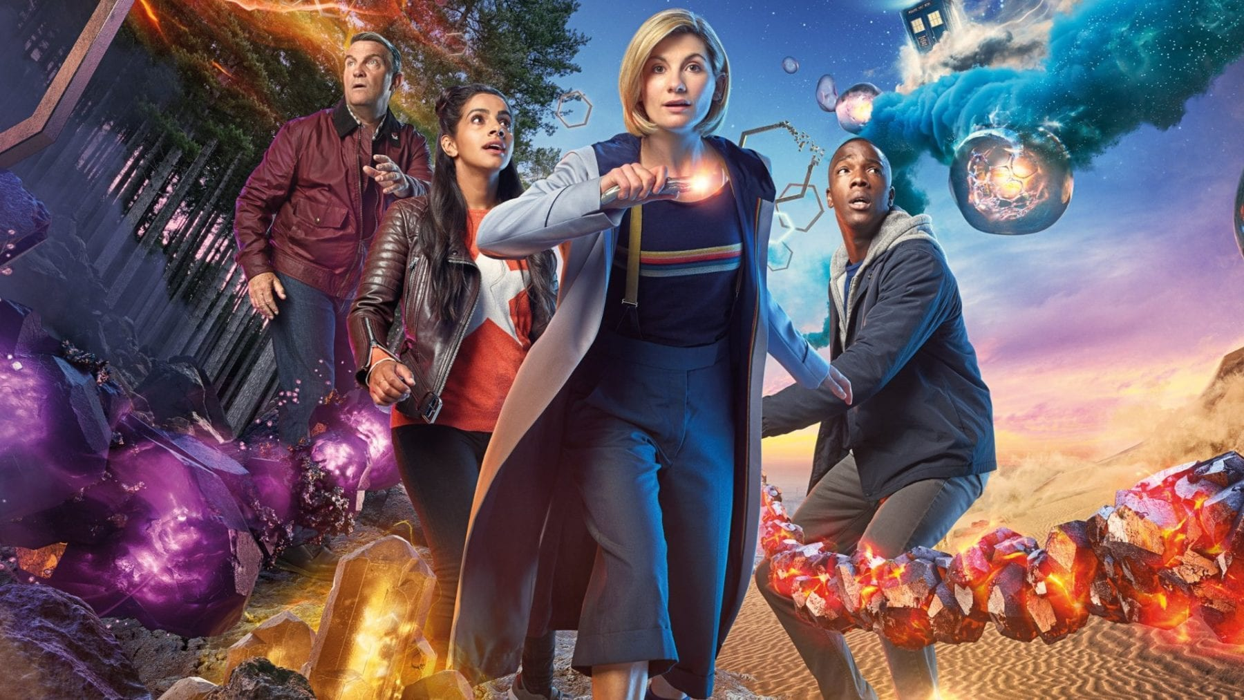 Jodie Whittaker Doctor Who Wallpaper: Exclusive: Doctor Who's Jodie Whittaker On Working With