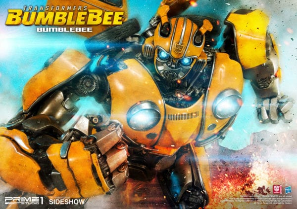 Prime 1 Studio unveils Bumblebee collectible statue from the
