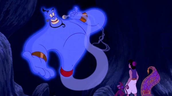 Genie's first 'Aladdin' remake reveal confuses internet