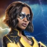 Black Lightning promo image featuring China Anne McClain's Lightning