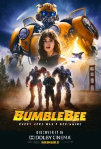 Movie Review – Bumblebee (2018)