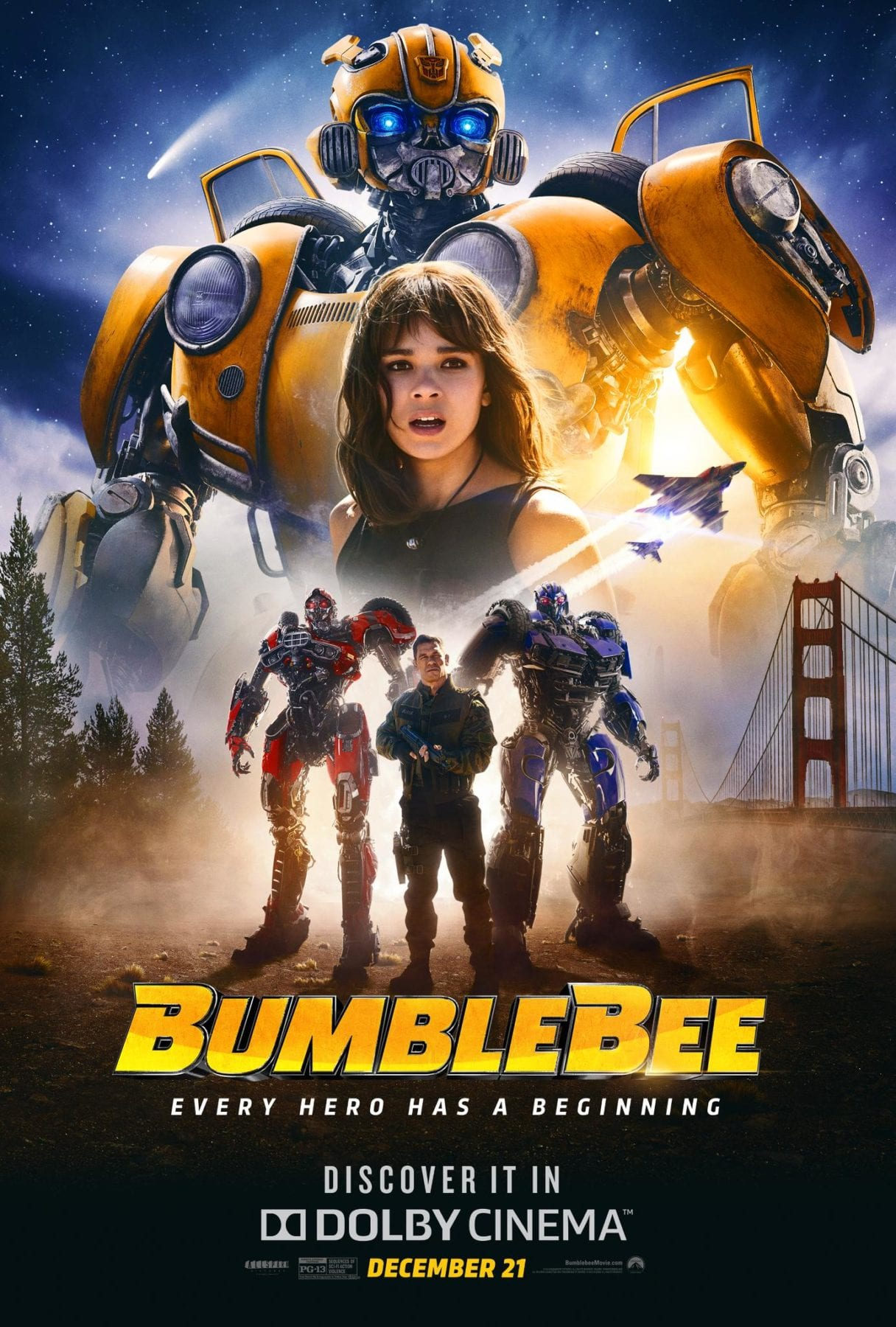 New Hindi Movei 2018 2019 Bolliwood: Paramount Releases Another New Bumblebee Poster