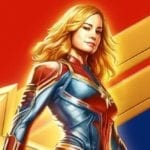 Captain Marvel gets a new illustrated poster