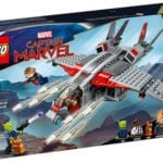 LEGO's Captain Marvel and the Skrull Attack set unveiled