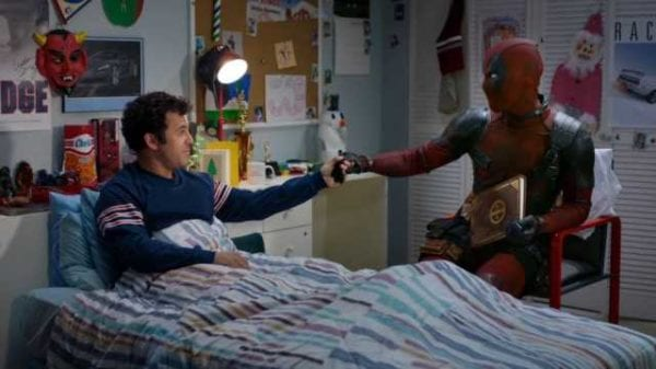 Deadpool passionately defends Nickelback against Fred Savage