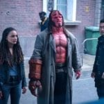 New Hellboy image featuring David Harbour, Sasha Lane and Daniel Dae Kim