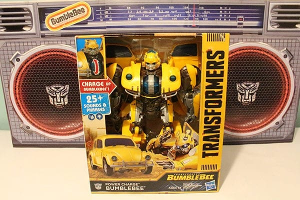 JointheBuzz with Hasbro's new Transformers: Bumblebee products