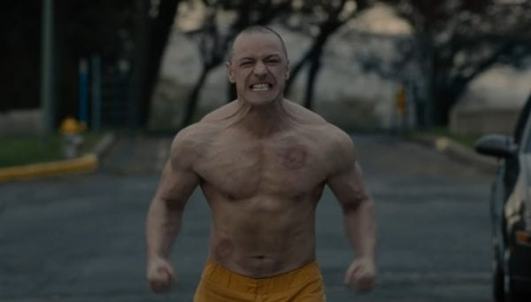 James McAvoy Glass trailer screenshot