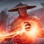 Raiden battles Scorpion in Mortal Kombat 11 screenshots