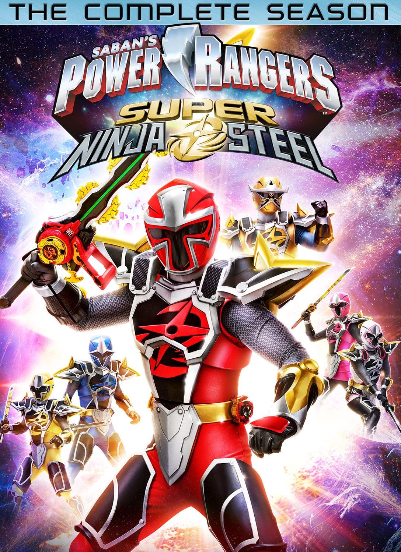 Power Rangers Super Ninja Steel: The Complete Season comes to DVD in