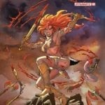 First-look preview of Dynamite's Red Sonja #1
