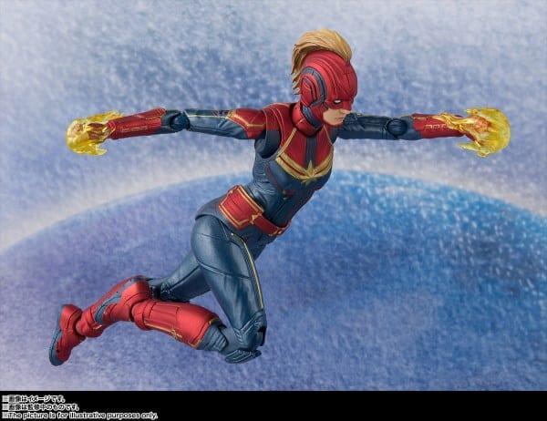 S.H. Figuarts Captain Marvel movie action figure revealed
