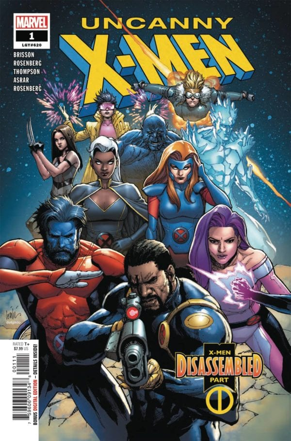 Uncanny X-Men and Venom top bestselling comics and graphic