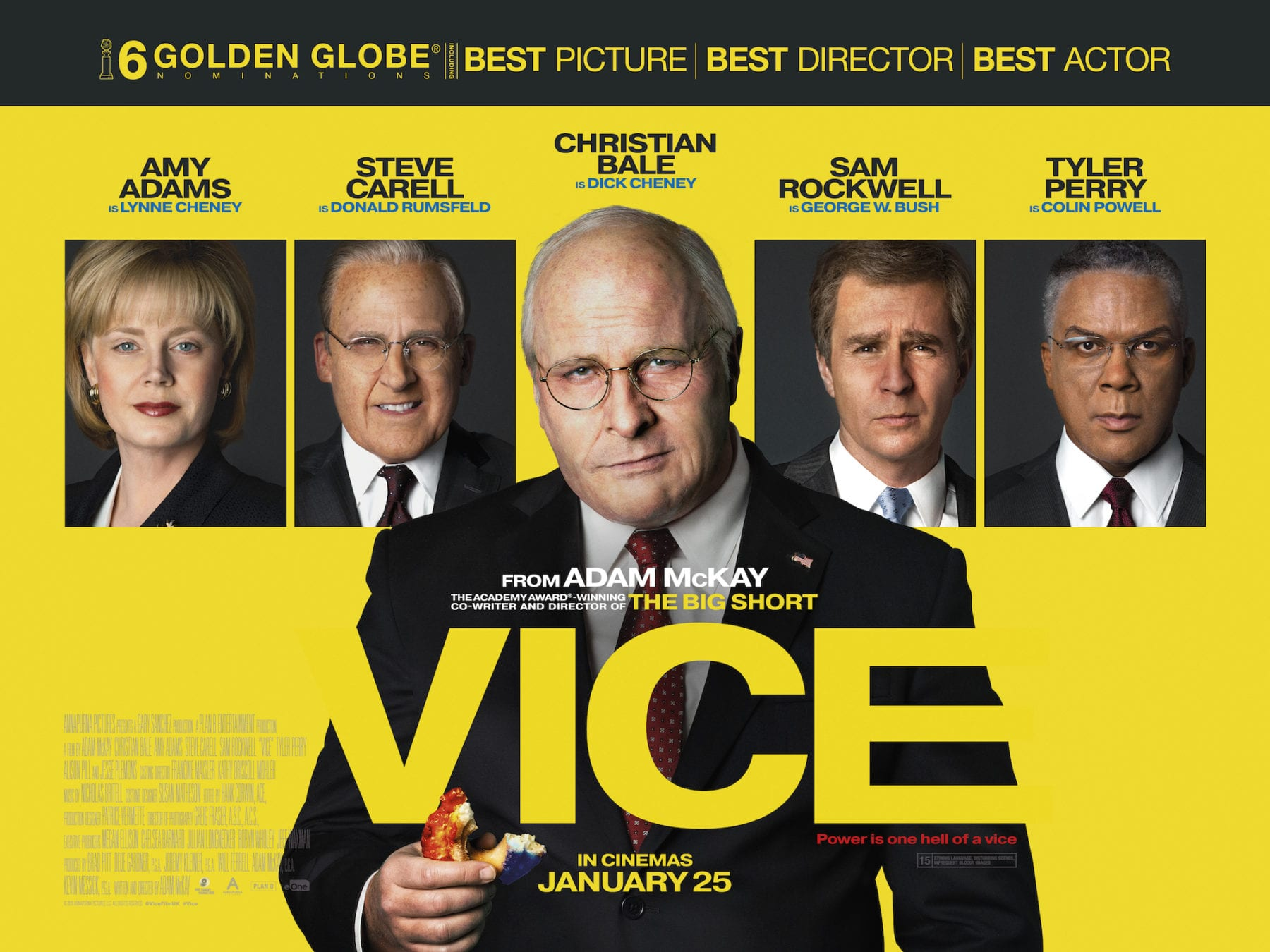 Image result for vice 2018 poster