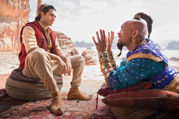 Twitter Is Clowning Will Smith As The Genie In 'Aladdin'