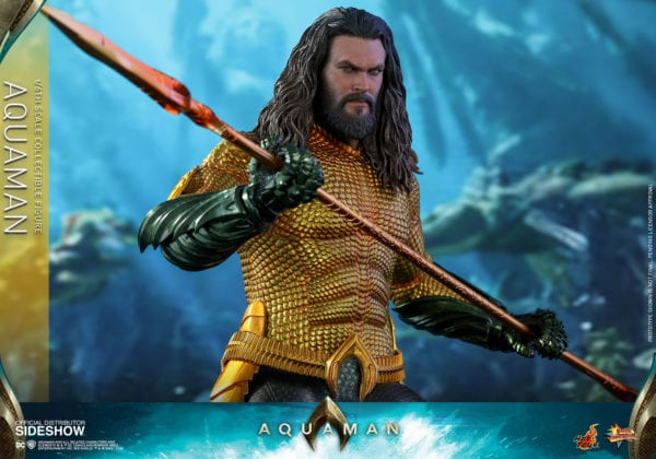 Hot Toys' Movie Masterpiece Series Aquaman figure available