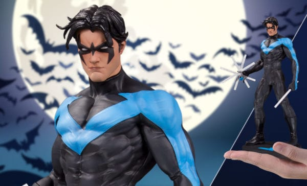 DC Collectibles reveals new Nightwing, Black Canary, Harley Quinn and The Drowned statues