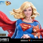 Prime 1 Studio unveils new Supergirl and Streaky the Supercat collectible statue