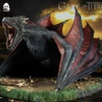 Drogon joins Threezero's Game of Thrones collectible figure line
