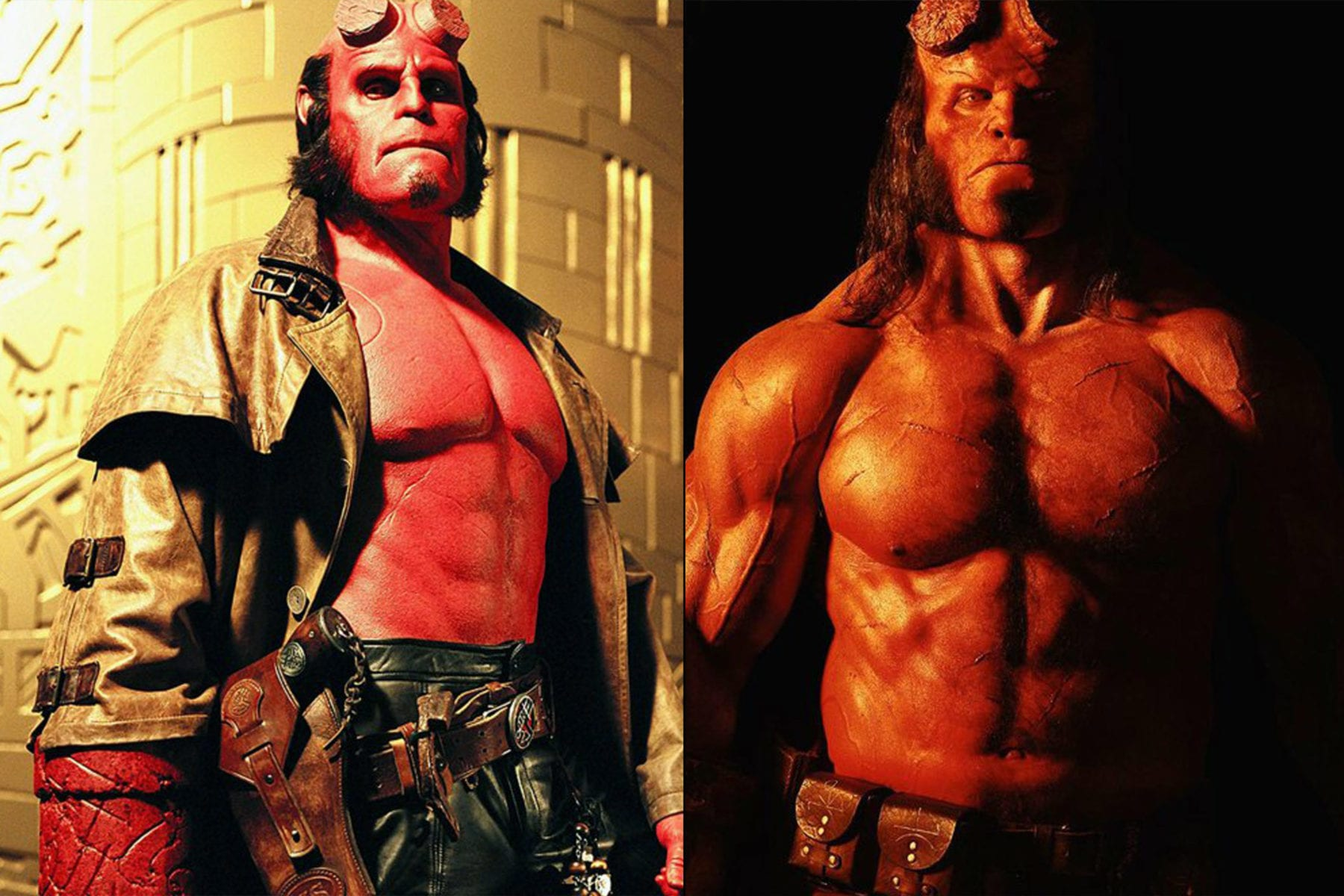 hellboy creator compares david harbours take to ron perlmans